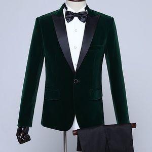 Other - Men's Green Tuxedo + Pants